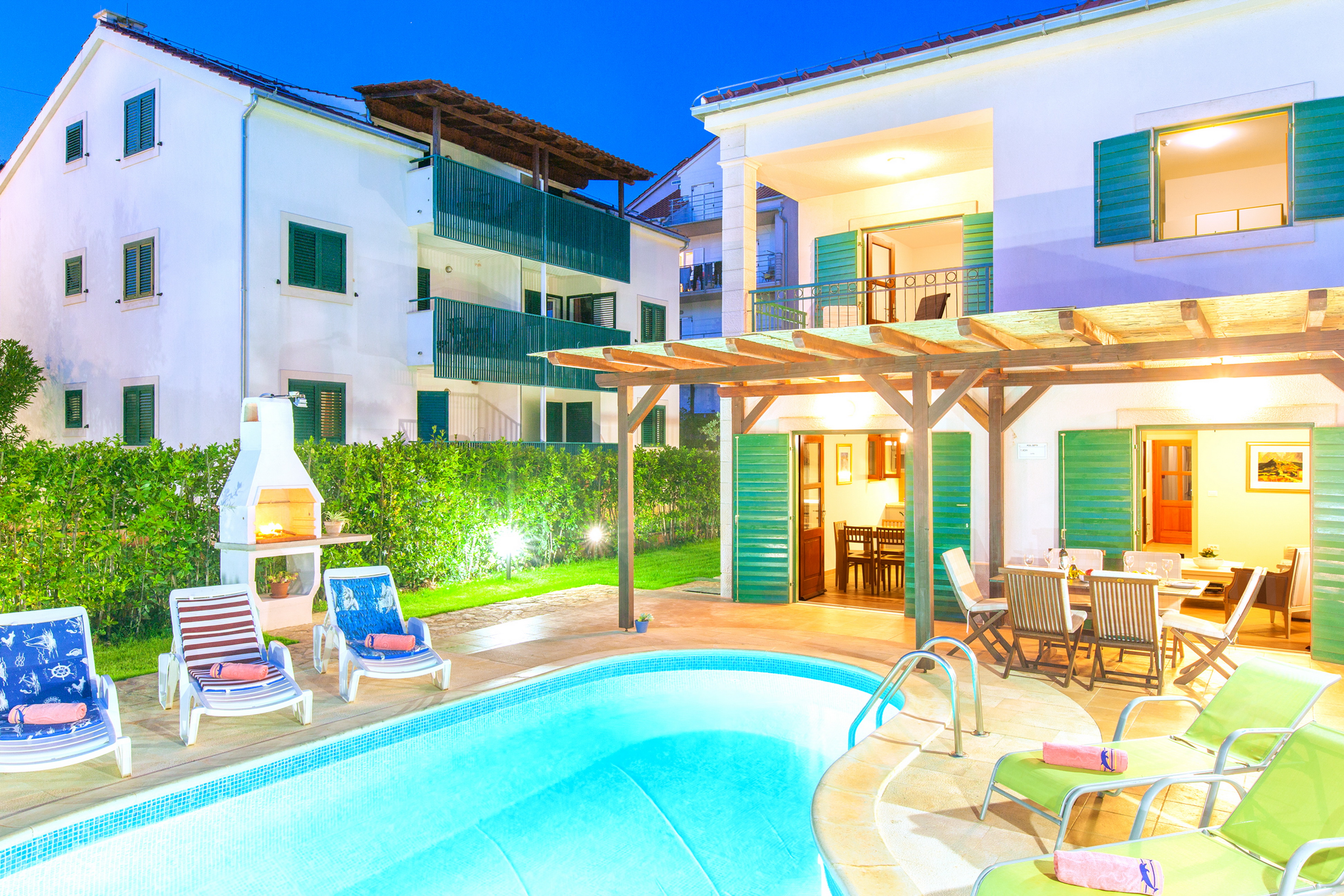 Modern Villa Cvita with a pool | Rent a Villa
