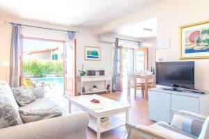 Sitting room in Villa Cvita