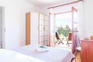 Double-bedded room in Villa Cvita